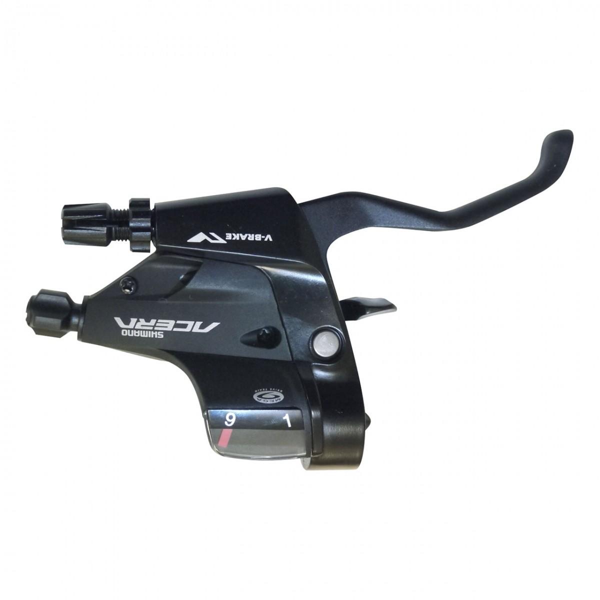 Passadores Shimano Acera M390 27v Rapidfire Plus Com Manete