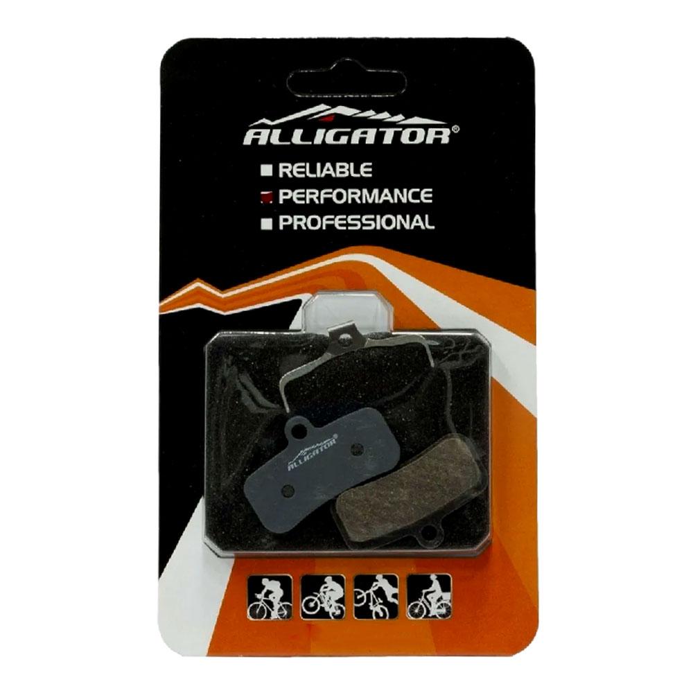 Pastilha de Freio à Disco Alligator para Deore SLX XT XTR ZE Padrão 4 Pistões