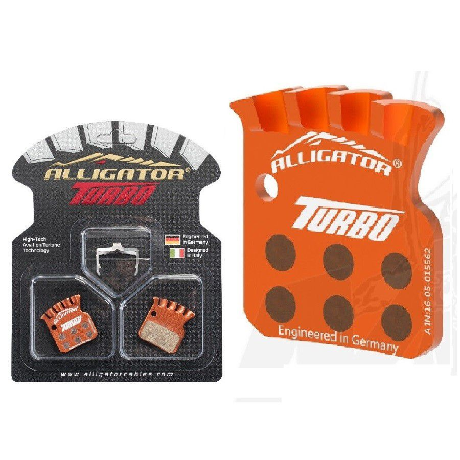 Pastilhas de Freio à Disco Alligator Icetech para Sram Level TLM Ultimate Avid RED