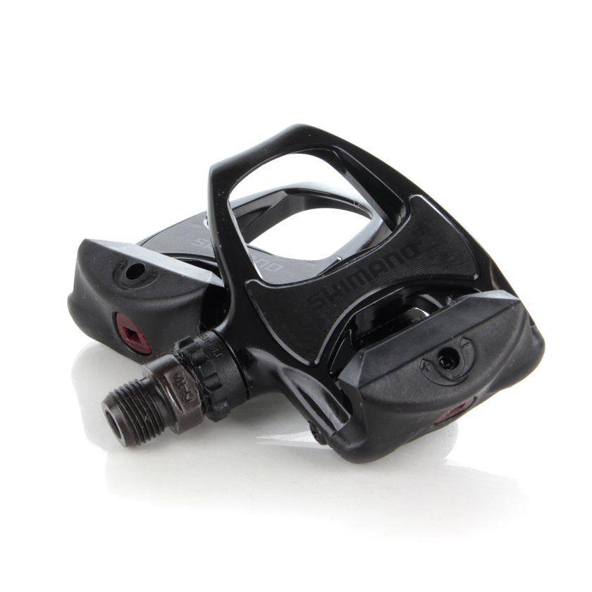 Pedal de encaixe Clip Bicicleta Speed Shimano R540 Preto Com Taquinhos Sh-11