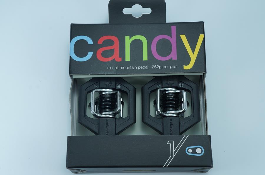 Pedal MTB Crank Brothers Candy 1 Preto com Taquinhos