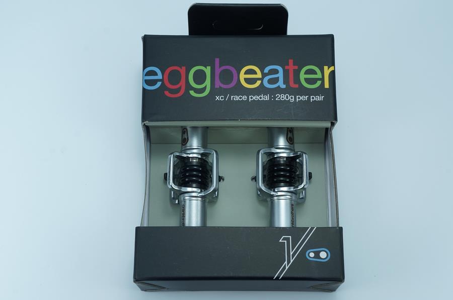 Pedal MTB Crank Brothers Egg Beater 1 Mola Preta com Taquinhos