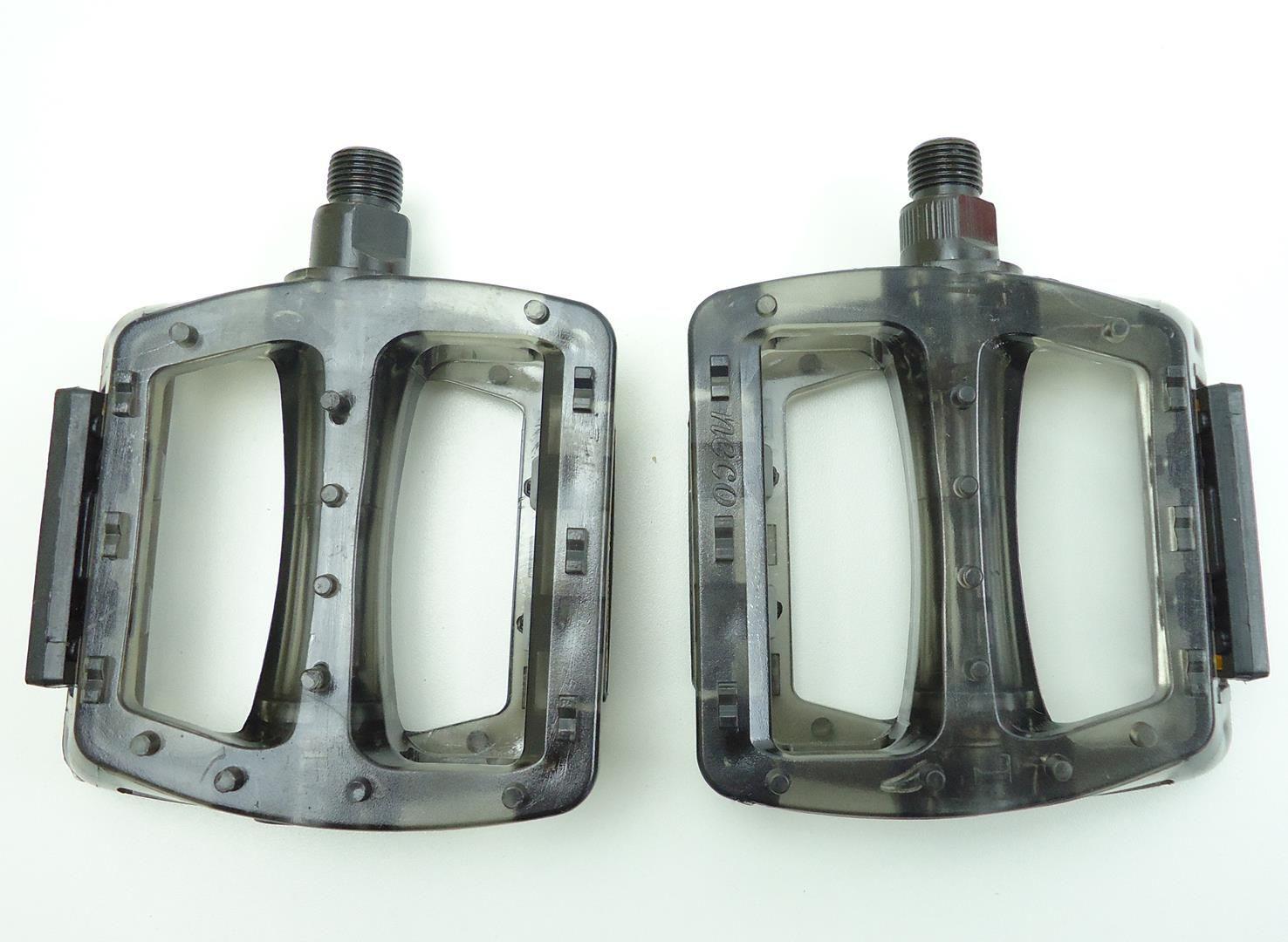 Pedal Plataforma para Bicicleta Neco WP601 com Travas Diversas Cores
