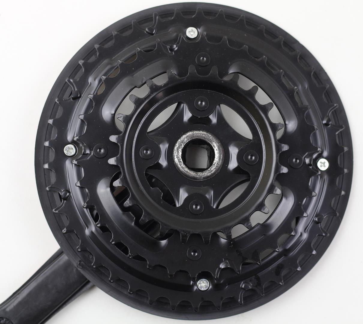 Pedivela Bicicleta Mountain-Bike GTS Element 42-32-24 dentes 170mm Eixo Quadrado para 6-7-8 velocidades