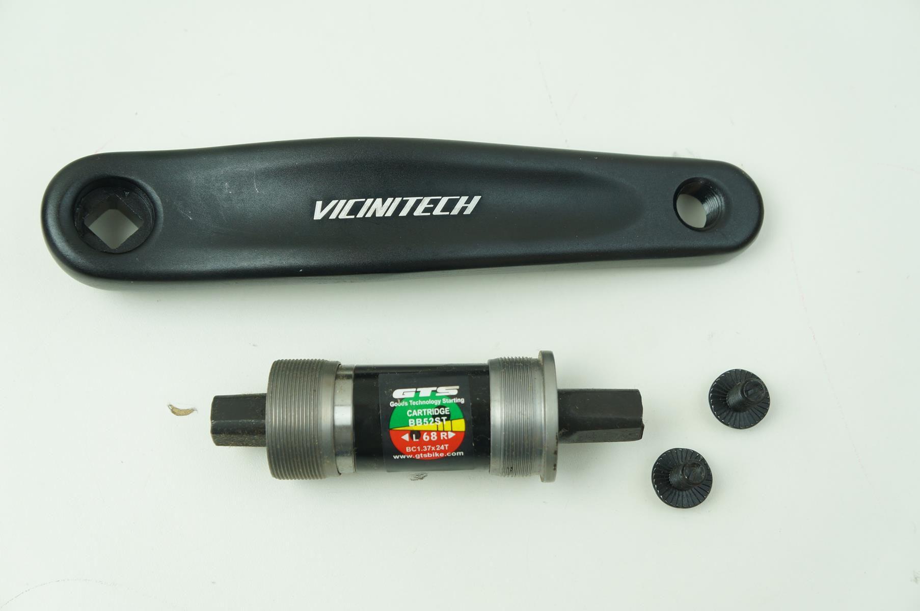 Pedivela Mtb Vicinitech 2x10 170mm Coroas 38-26 Com Movimento