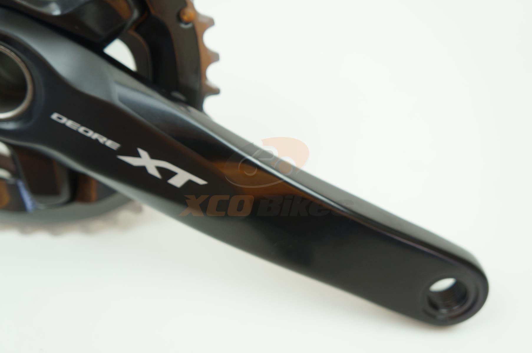 Pedivela Shimano Deore XT M8000 36-26 175mm 2x11 velocidades