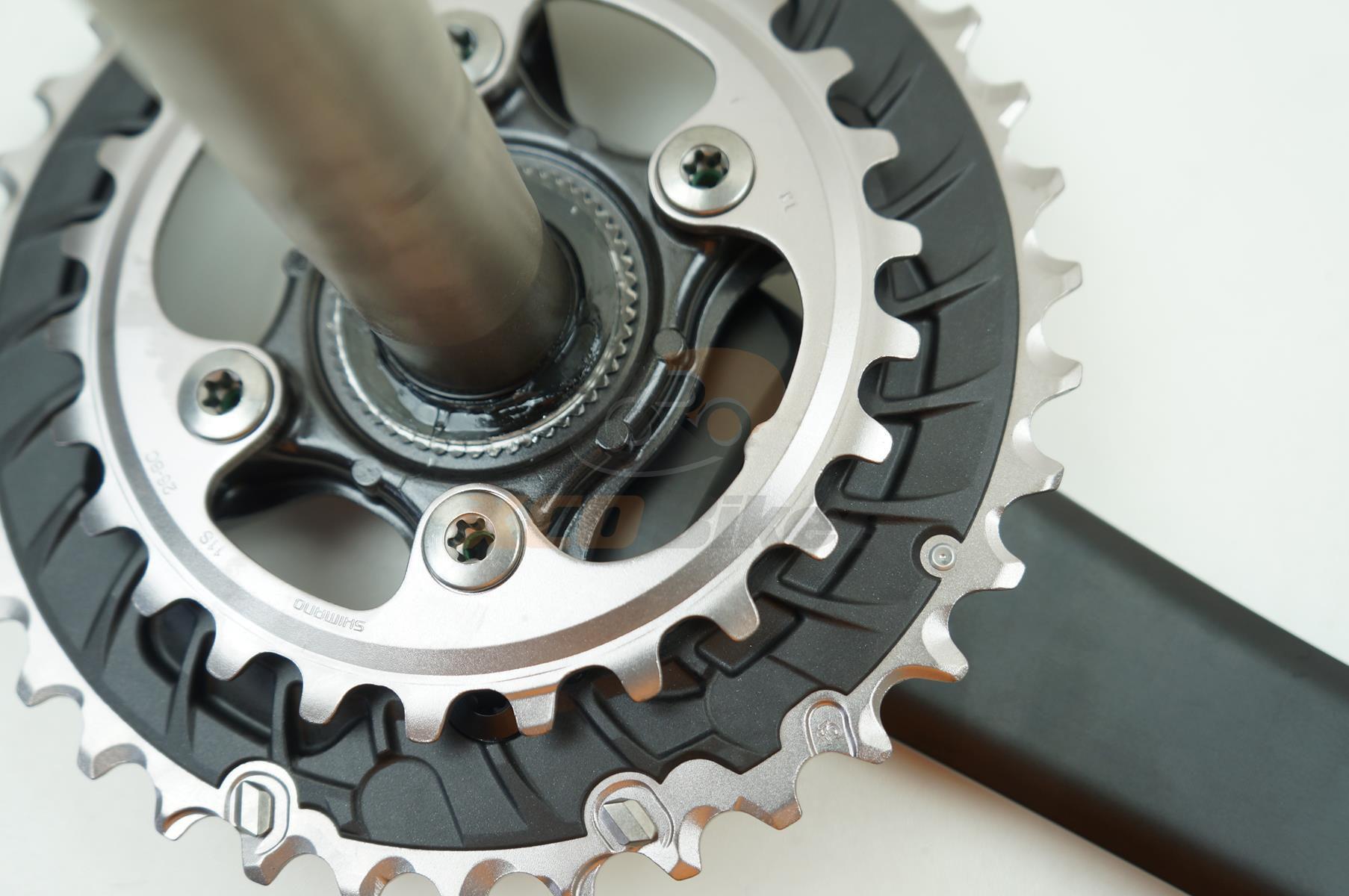 Pedivela Bicicleta Shimano Deore XT M8000 36-26 175mm 2x11 velocidades