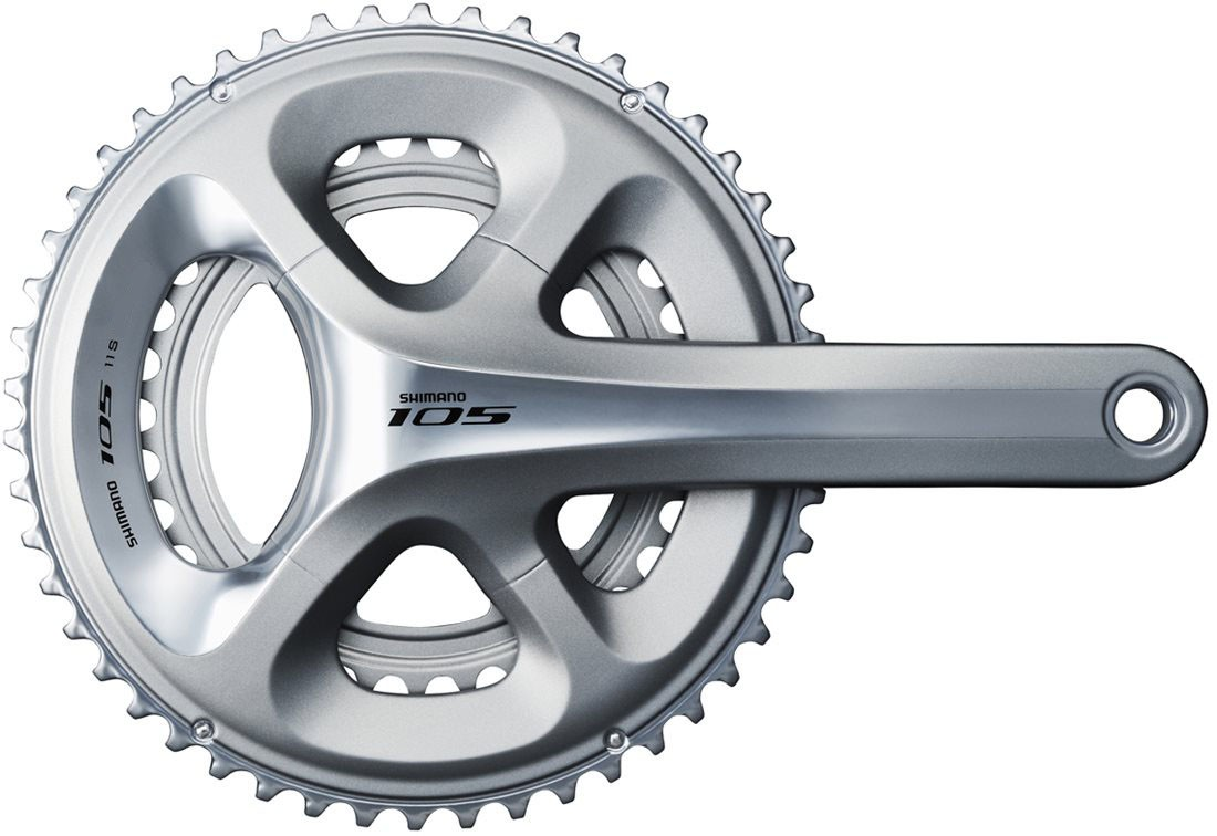 Pedivela Speed Road Shimano 105 5800 53-39 172.5mm 11v Cor Prata
