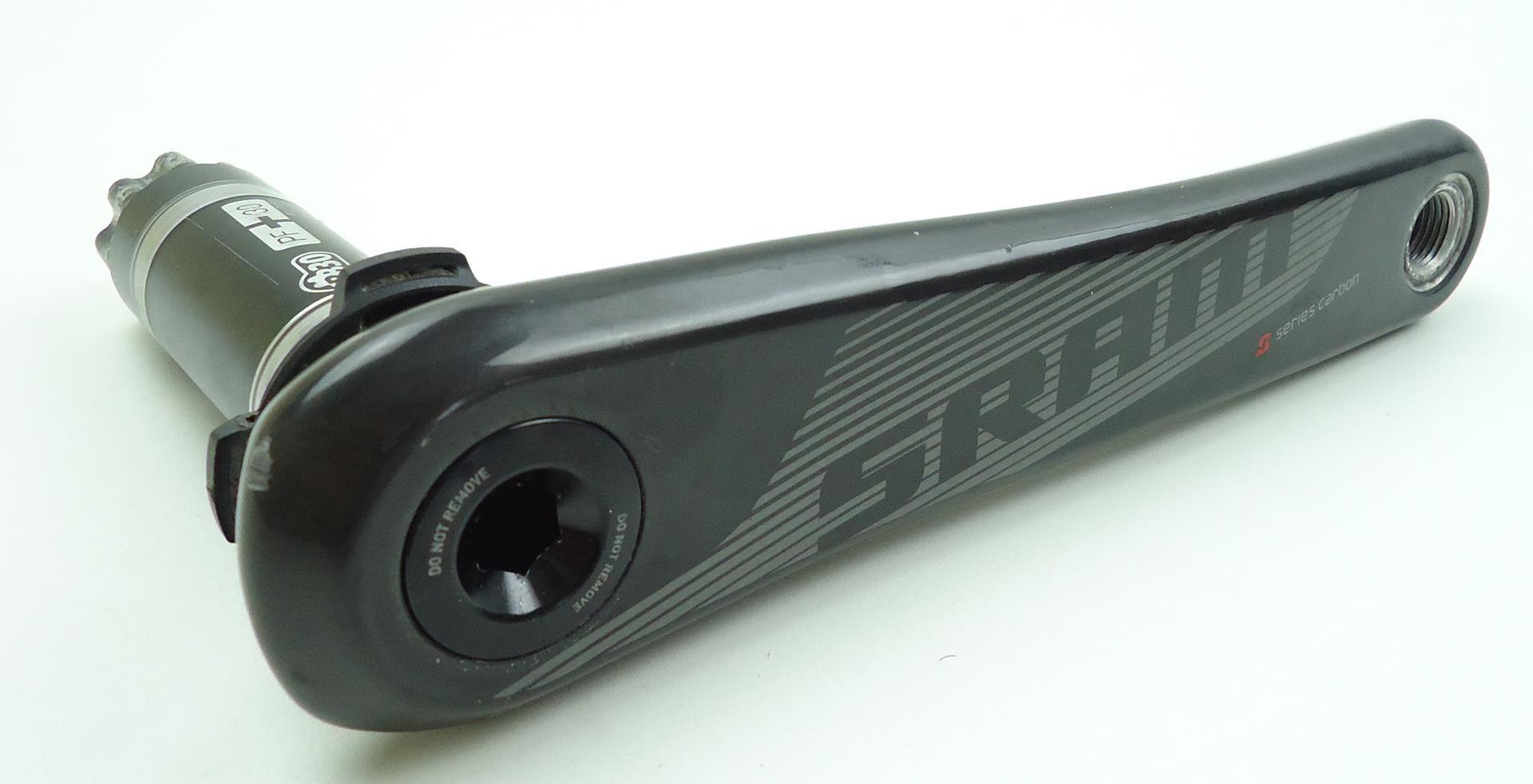 Pedivela Speed Sram S901 Carbono PF30/BB30 Coroas 53-39 dentes 10 velocidades 172,5mm - USADO