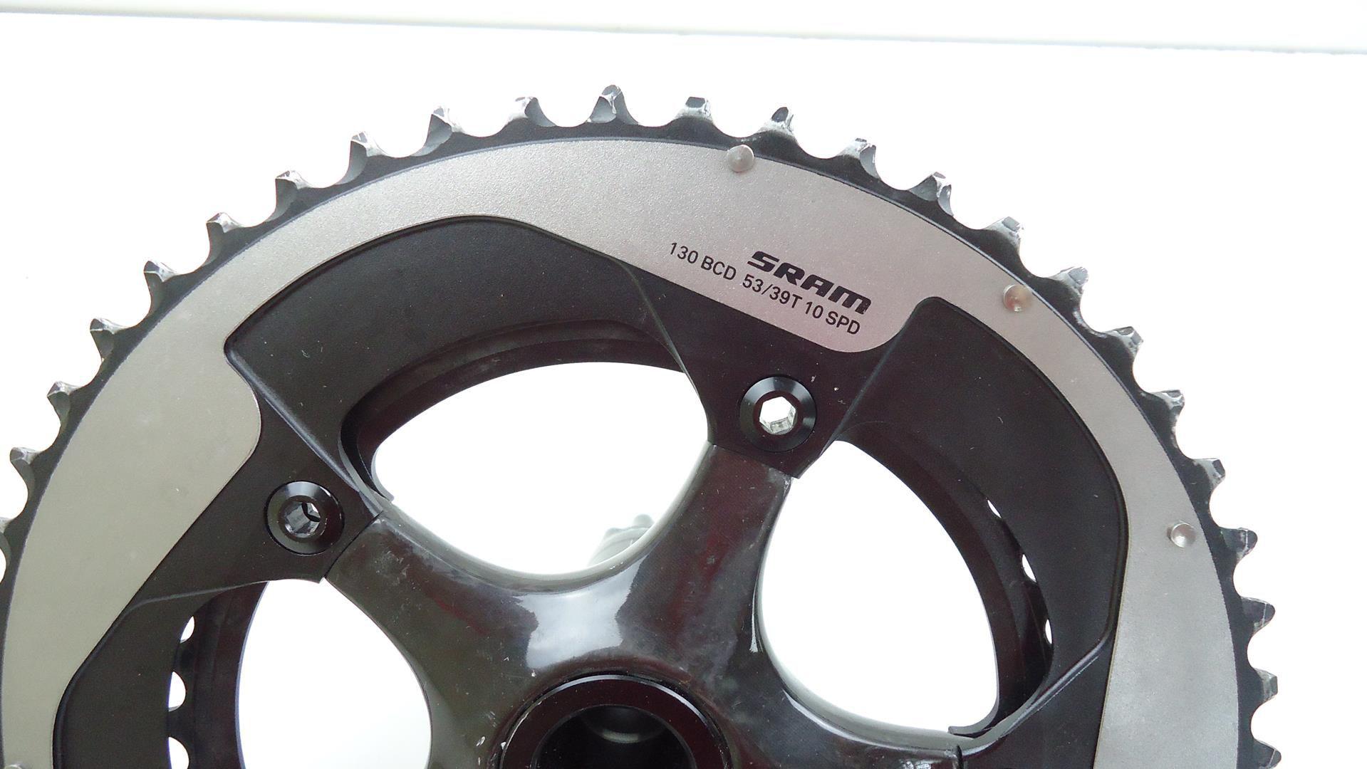 Pedivela Speed Sram Red Carbono BB30 53-39 10v 172,5mm - USADO