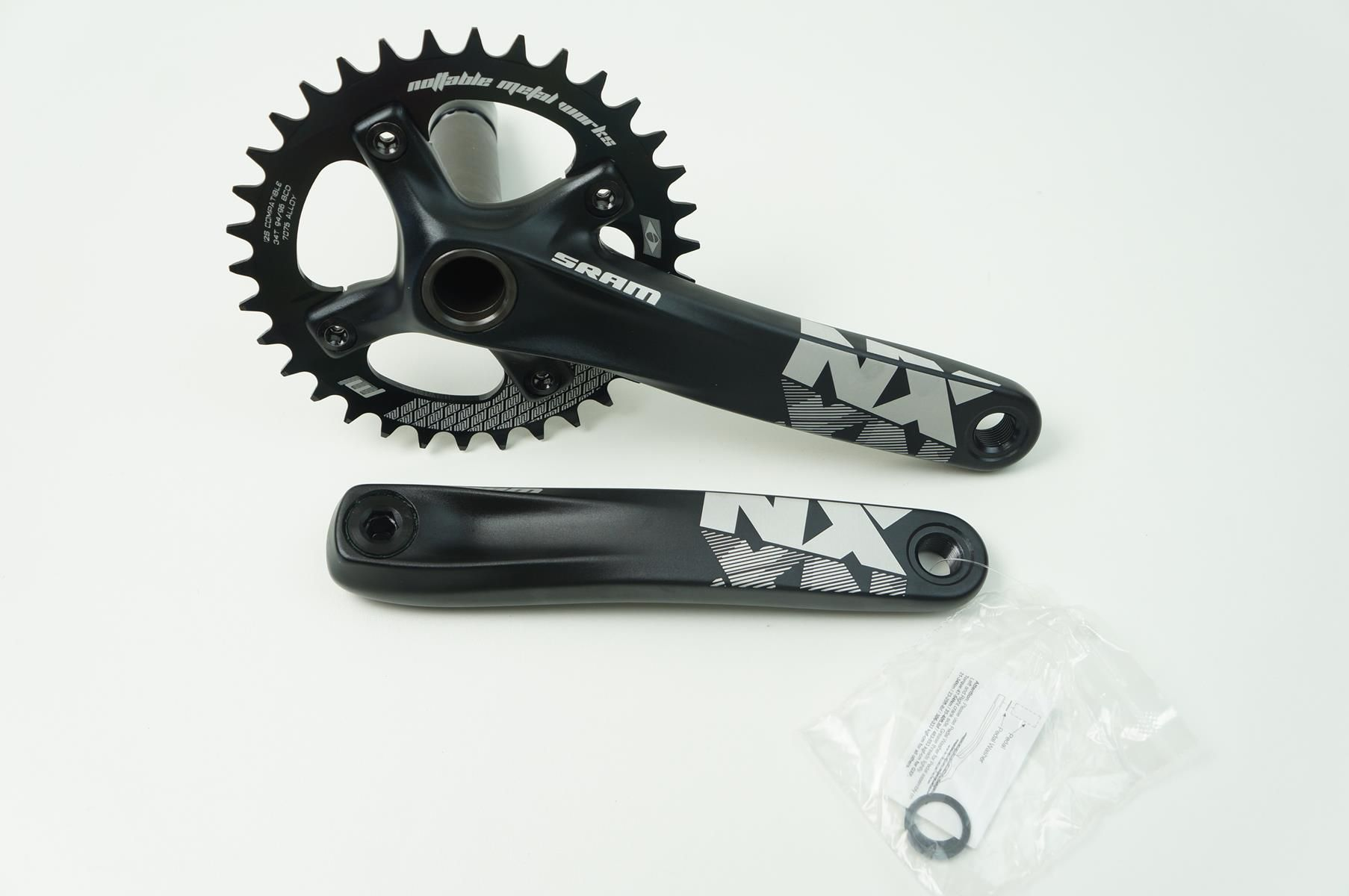 Pedivela Sram Mtb NX 1x11 GXP 175mm Coroa Nottable 32 dentes BCD 94mm