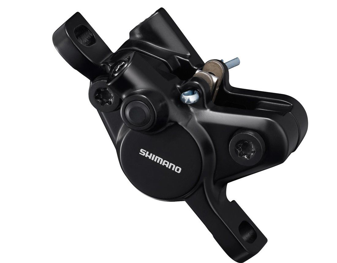 Pinça Caliper De Freio À Disco Shimano MT400 Dianteiro ou Traseiro