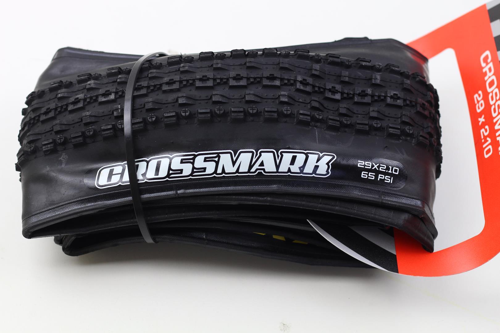 Pneu Bicicketa MTB Maxxis Crossmark 29 2.10 Dobrável em Kevlar Preto 685 gramas