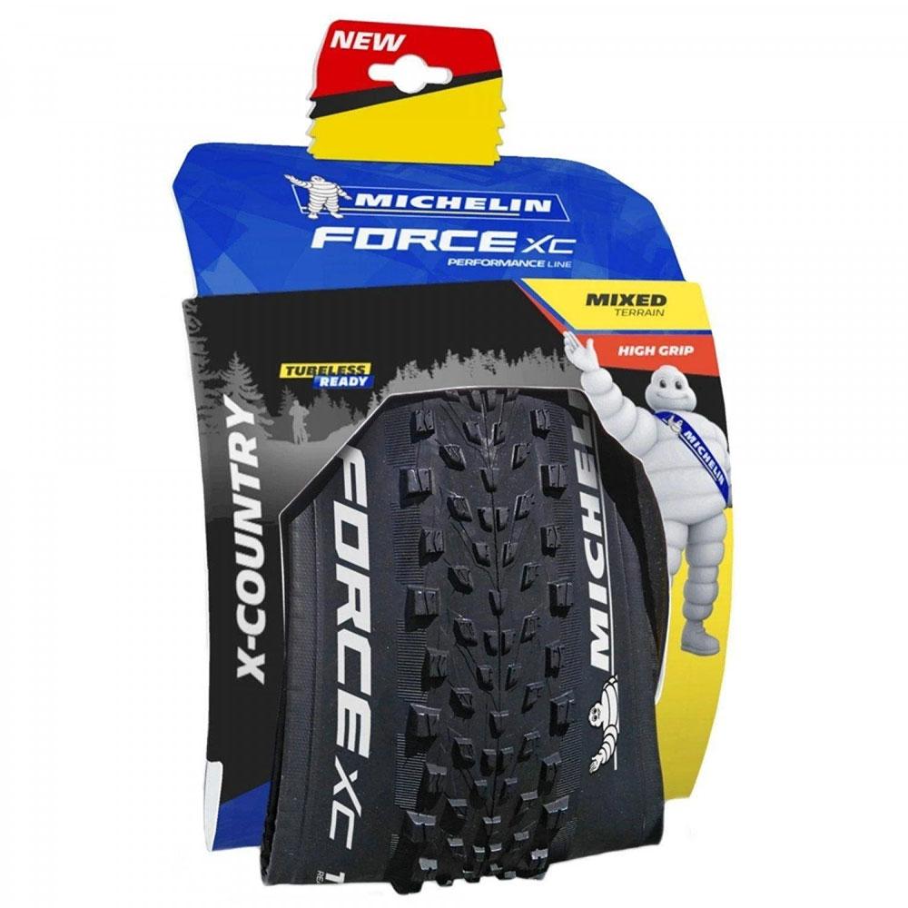 Pneu Bicicleta MTB Michelin Force XC Performace 29 x 2.25 3x60 TPI Kevlar Dobrável