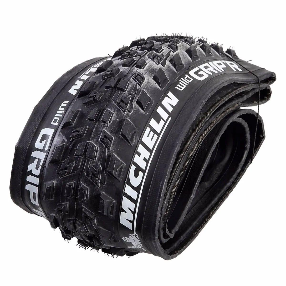 Pneu Bicicleta Mtb Michelin Wild Grip'r 29 x 2.10 Tubeless Ready Dobrável em Kevlar