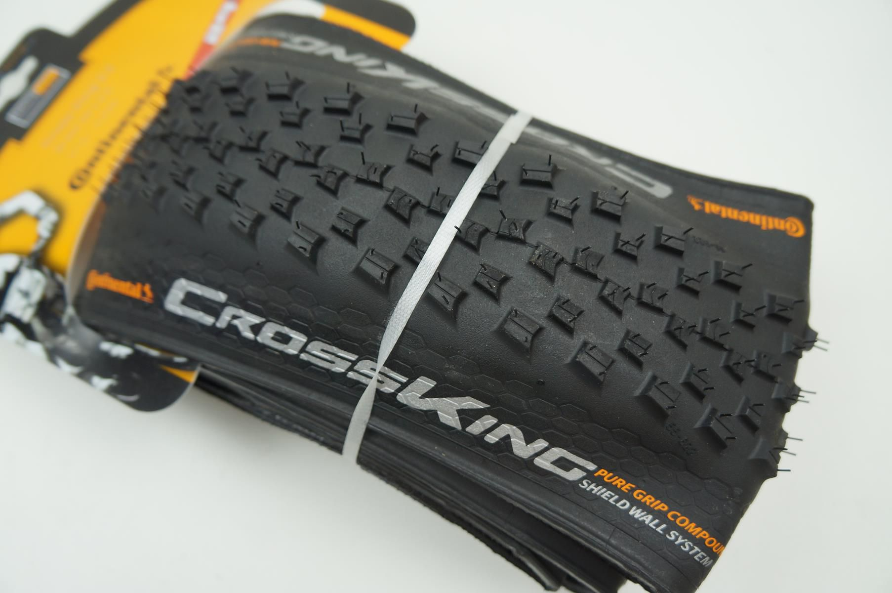 Pneu Mtb Continental Cross King Pure Grip 29er 2.2 Kevlar Tubeless Preto