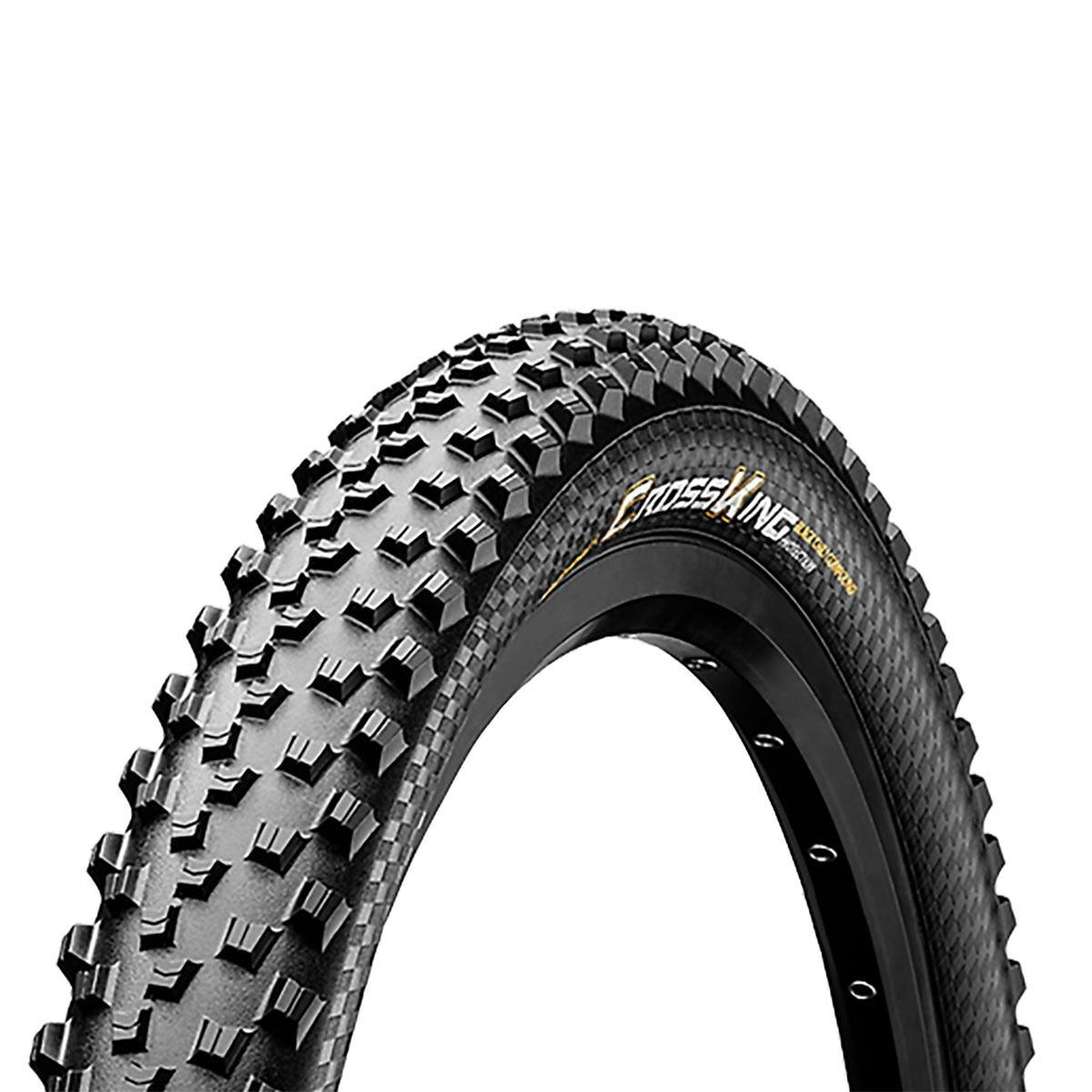 Pneu Mtb Continental Cross King Pure Grip 29er 2.3 Kevlar Tubeless Preto