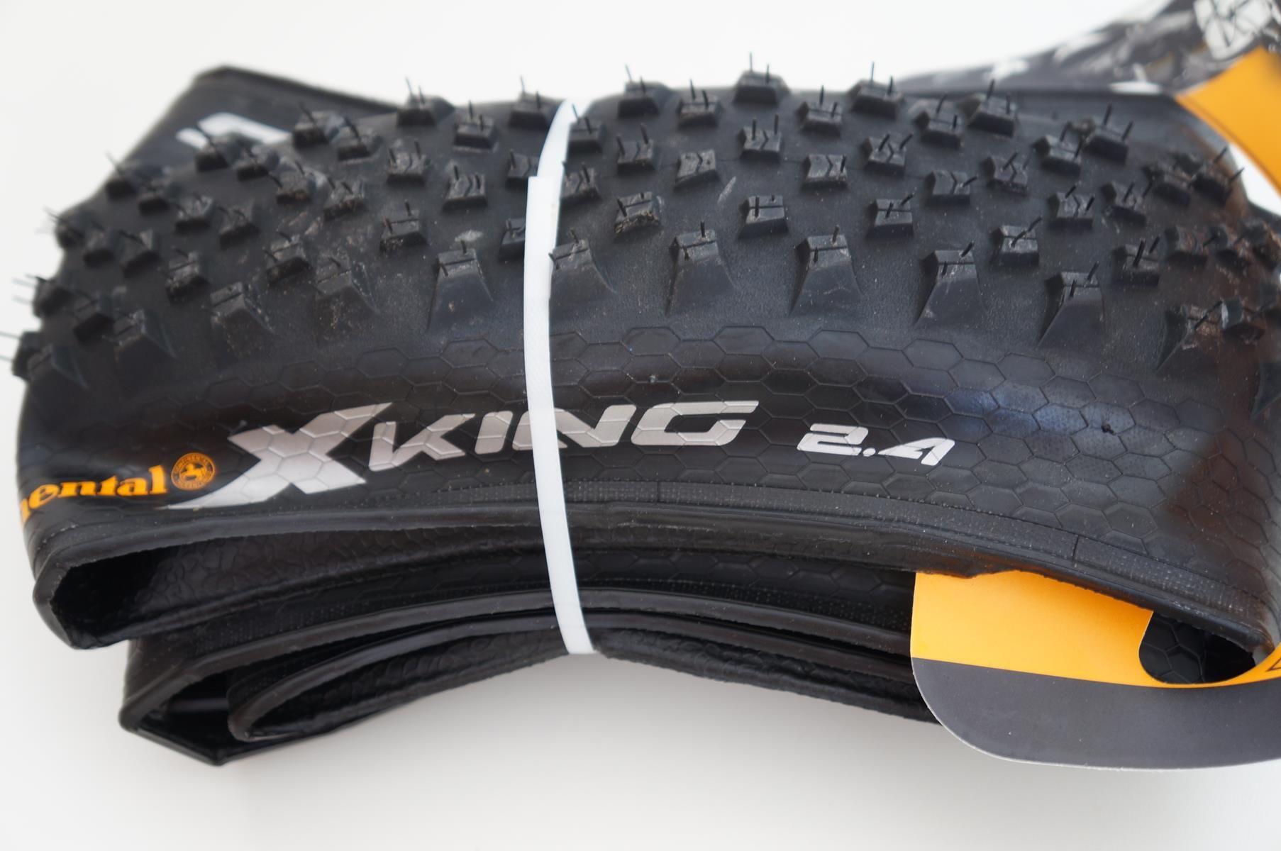 Pneu MTB Continental X-king Performance 27,5 2.4 Kevlar Preto