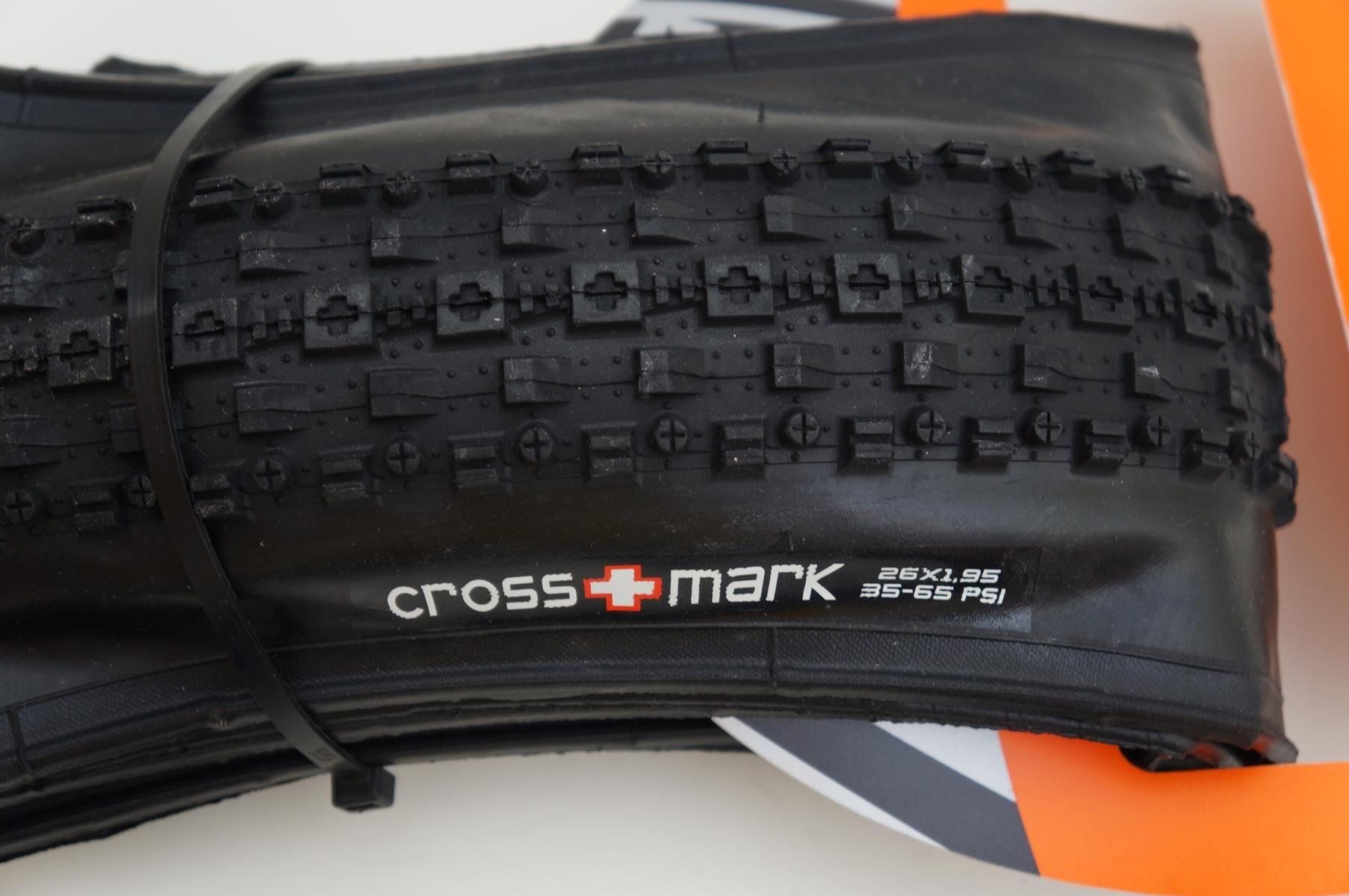 Pneu Mtb Maxxis Crossmark Aro 26 1.95 kevlar Preto 529 gramas
