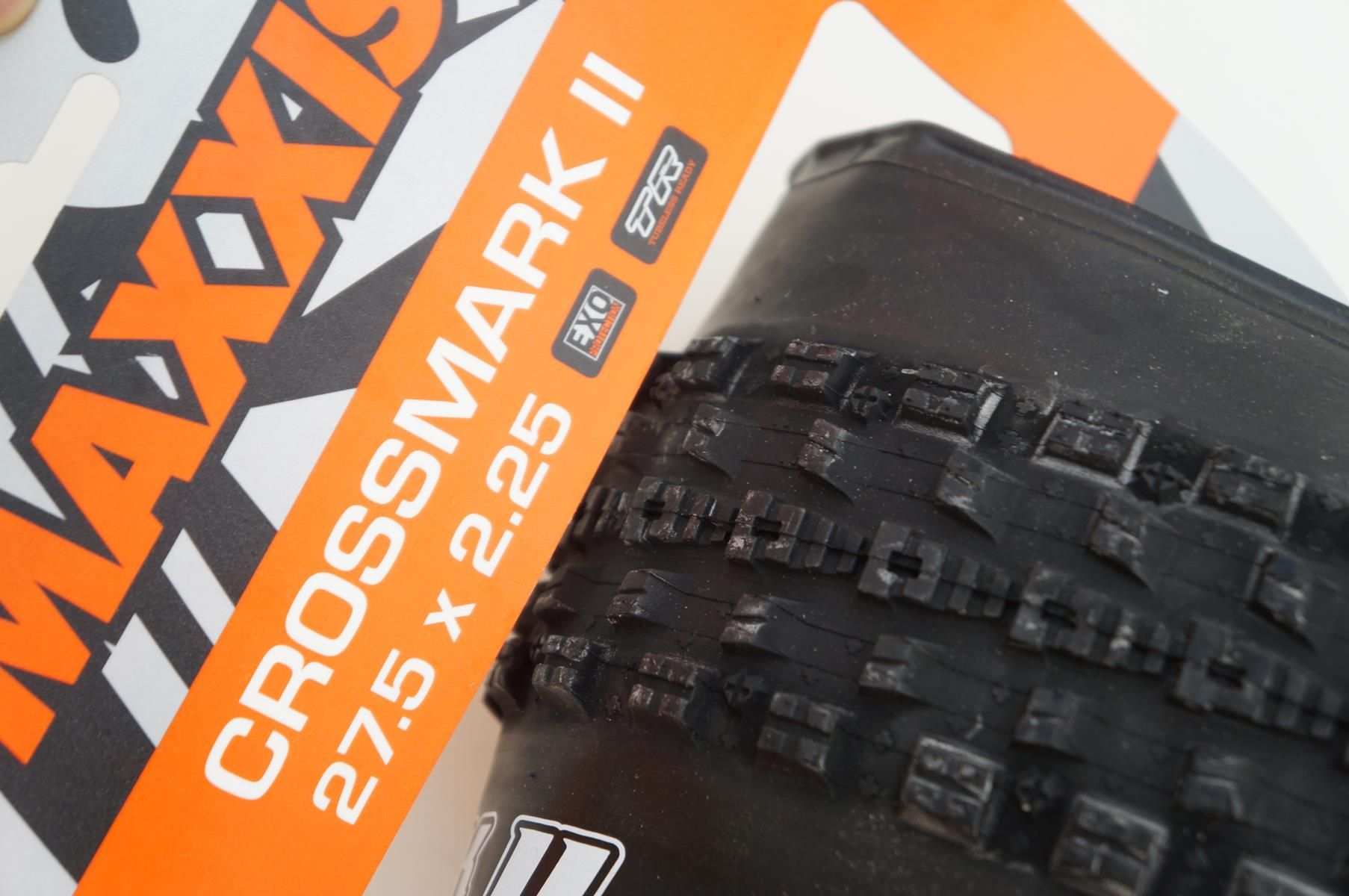 Pneu Mtb Maxxis Crossmark II 2 27,5 2.25 Tubeless Ready TR Exo