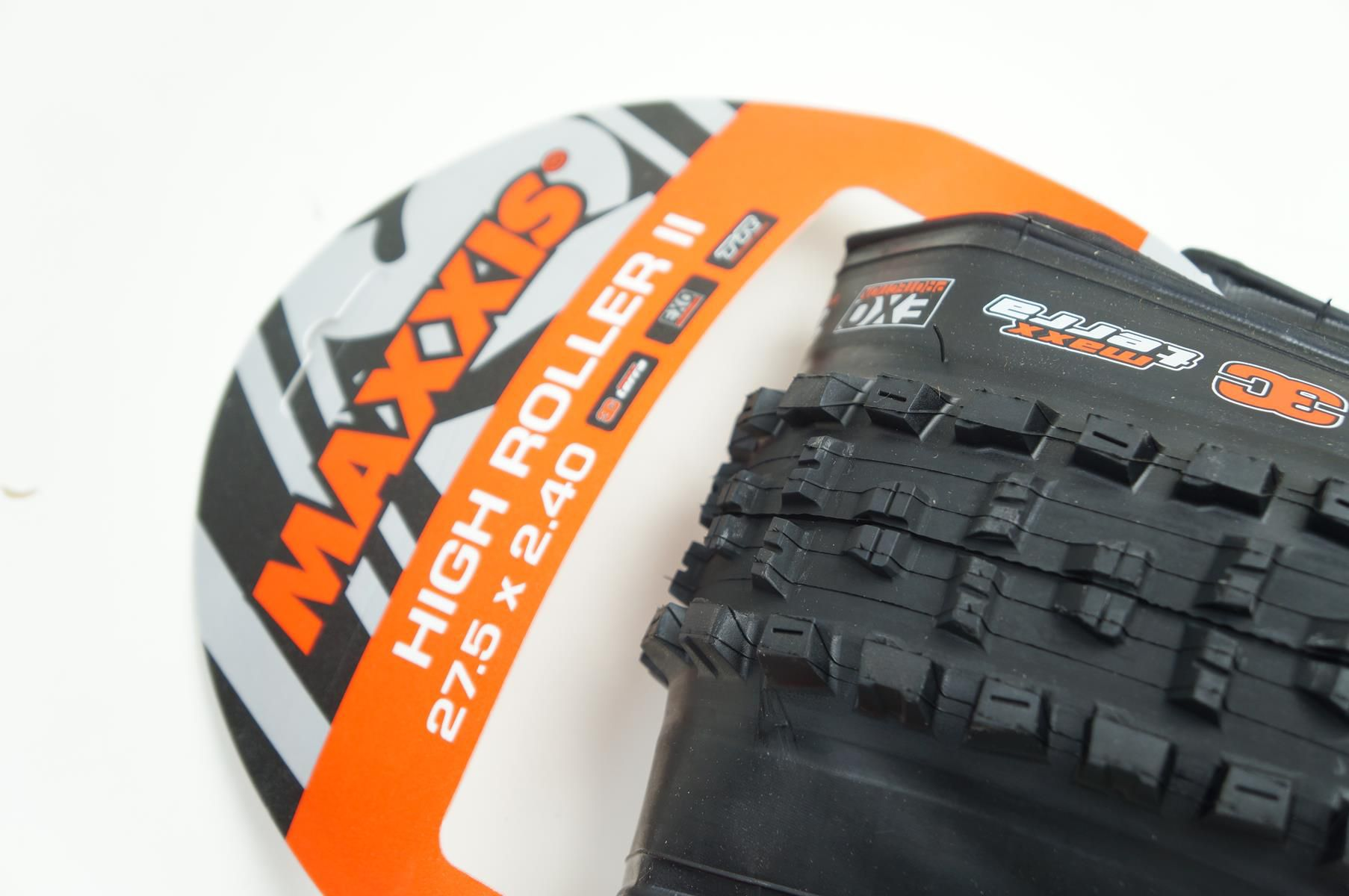 Pneu Enduro Maxxis High Roller II 27.5 2.40 EXO Tubeless Ready Kevlar