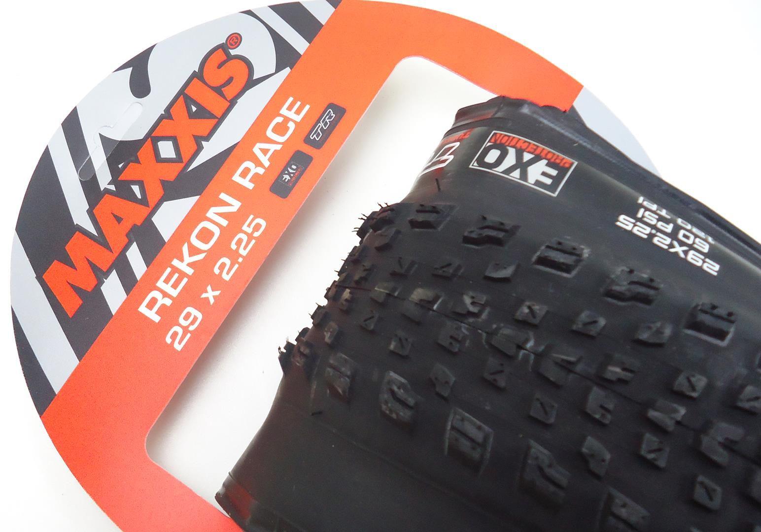 Pneu Mtb Maxxis Recon Race 29 2.25 Tubeless Ready Exo Protection em Kevlar 120 TPI