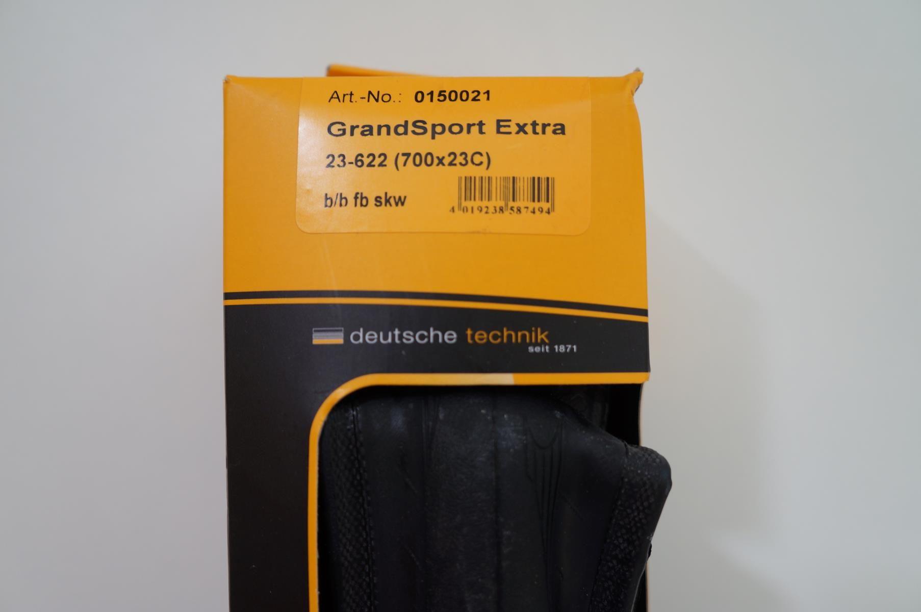 Pneu Road Continental Grand Sport Extra 700x23 Kevlar Preto