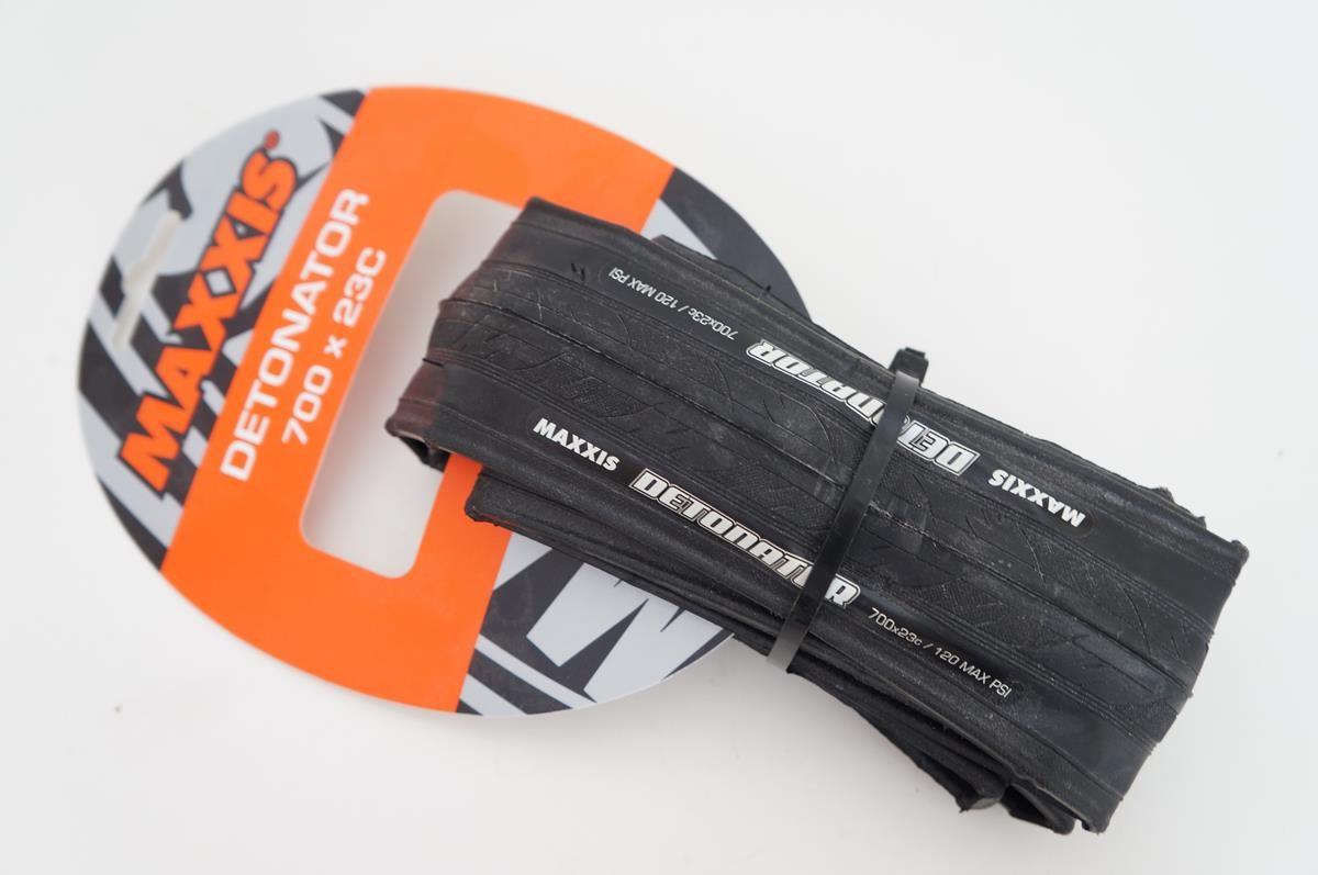 Pneu Road Maxxis Detonator 700x23 Kevlar Preto 227 gramas
