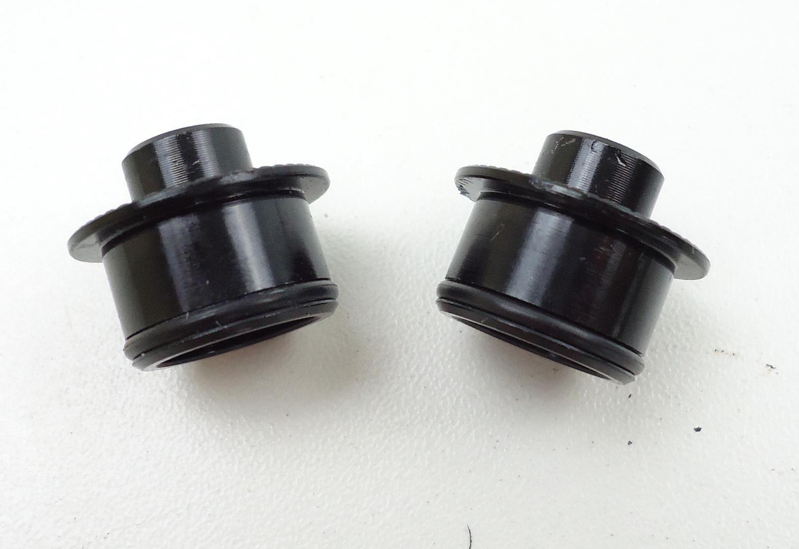 Ponteiras Adaptadores para Cubo Dianteiro de 15mm x 100mm para eixo 9mm