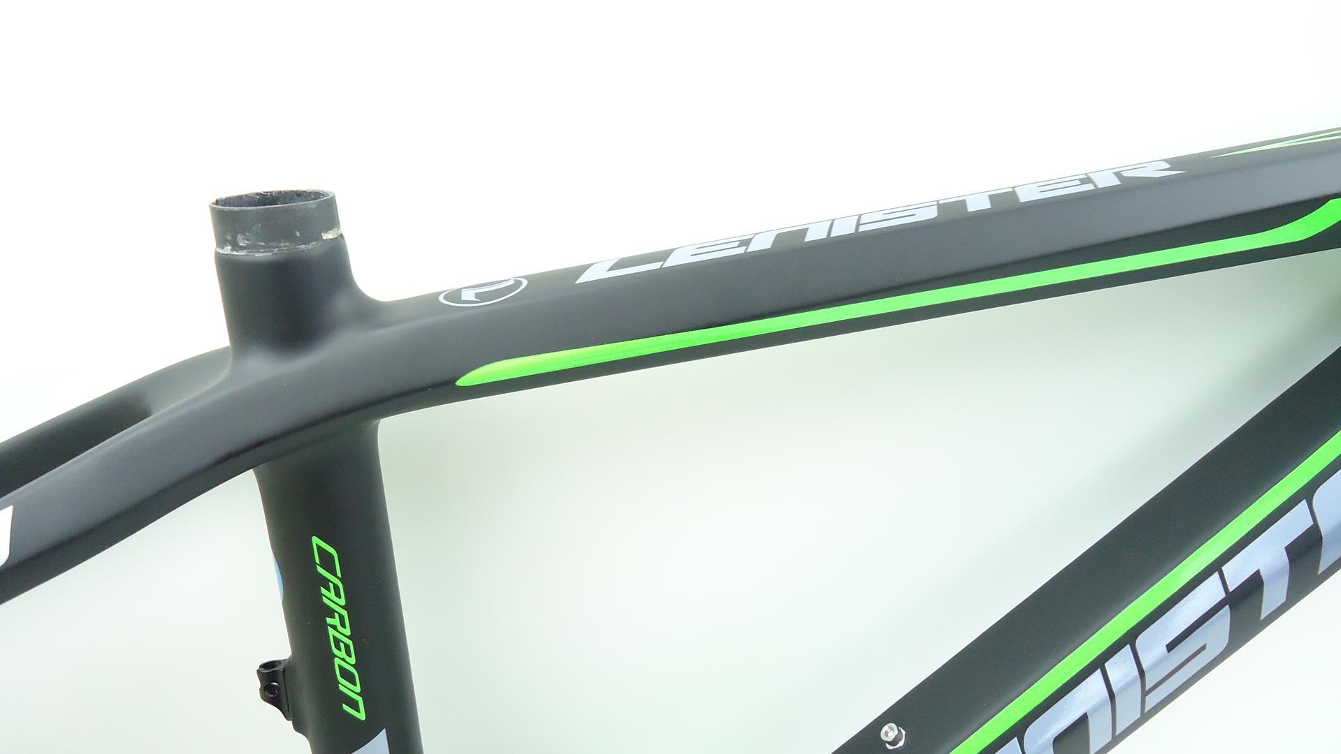 Quadro 29 Bicicleta MTB Lenister Carbono Tam 19 + Kit Selim e Canote