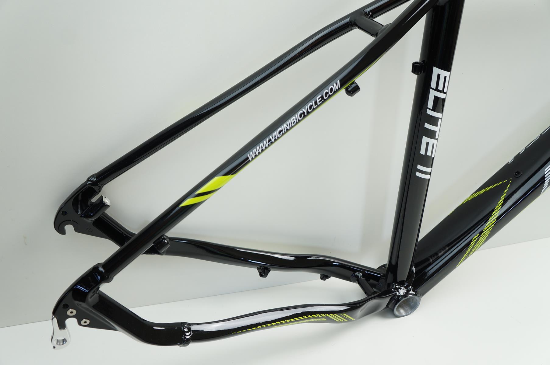 Quadro Bicicleta MTB Ballistech Elite II Aro 29 Preto Brilhante em Aluminio 2019