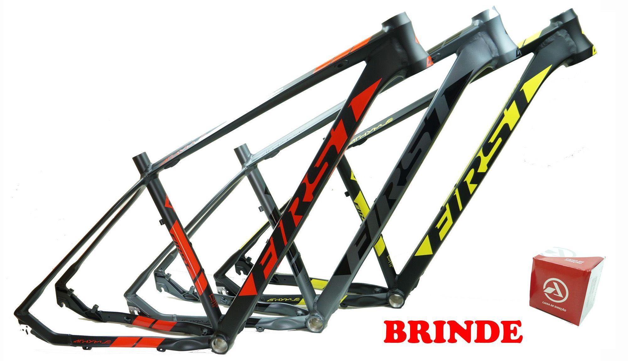 Quadro Bicicleta Mtb First Athymus F1 Aro 29 em Aluminio Várias Cores 2020