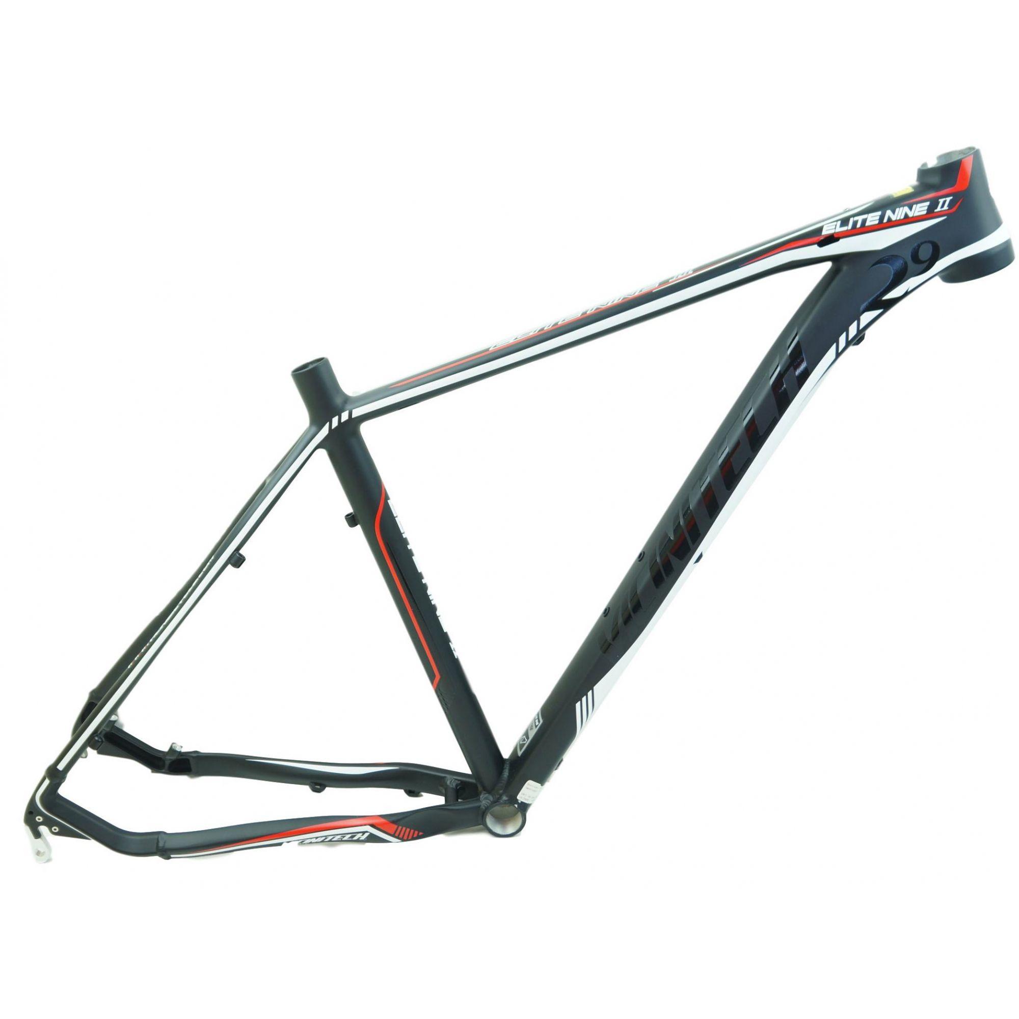 Quadro Bicicleta MTB Vicinitech 29er Elite Nine II em Aluminio Tamanho 19 Preto
