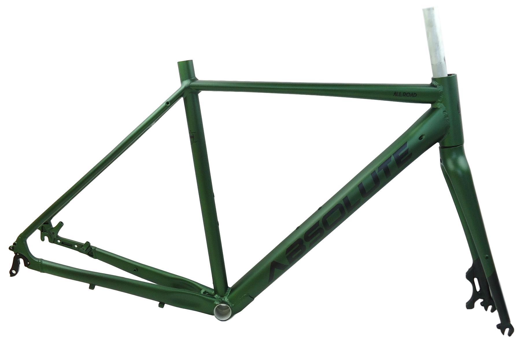 Quadro Bicicleta Speed Absolute All Road Gravel em Alumínio com Garfo Aro 700