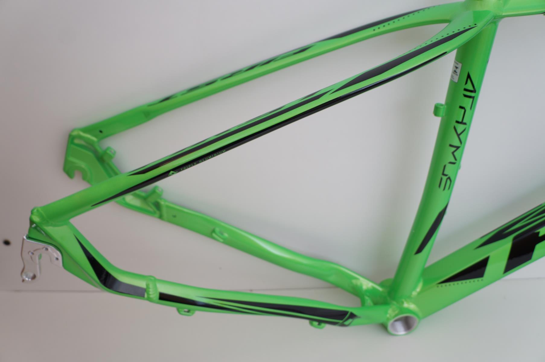 Quadro Mtb First Athymus Color Aro 29 Verde Brilhante Modelo 2019