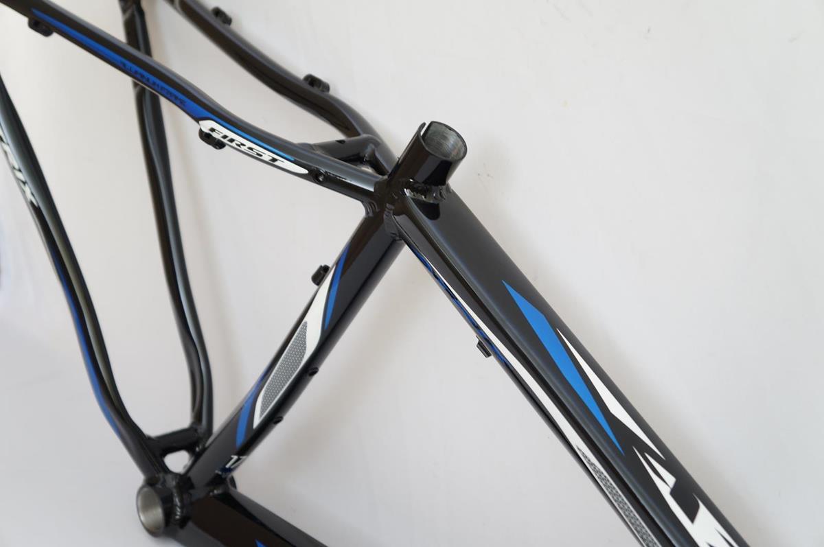 Quadro Mtb First Atrix Aro 29 Tamanho 15,5 Preto com Azul