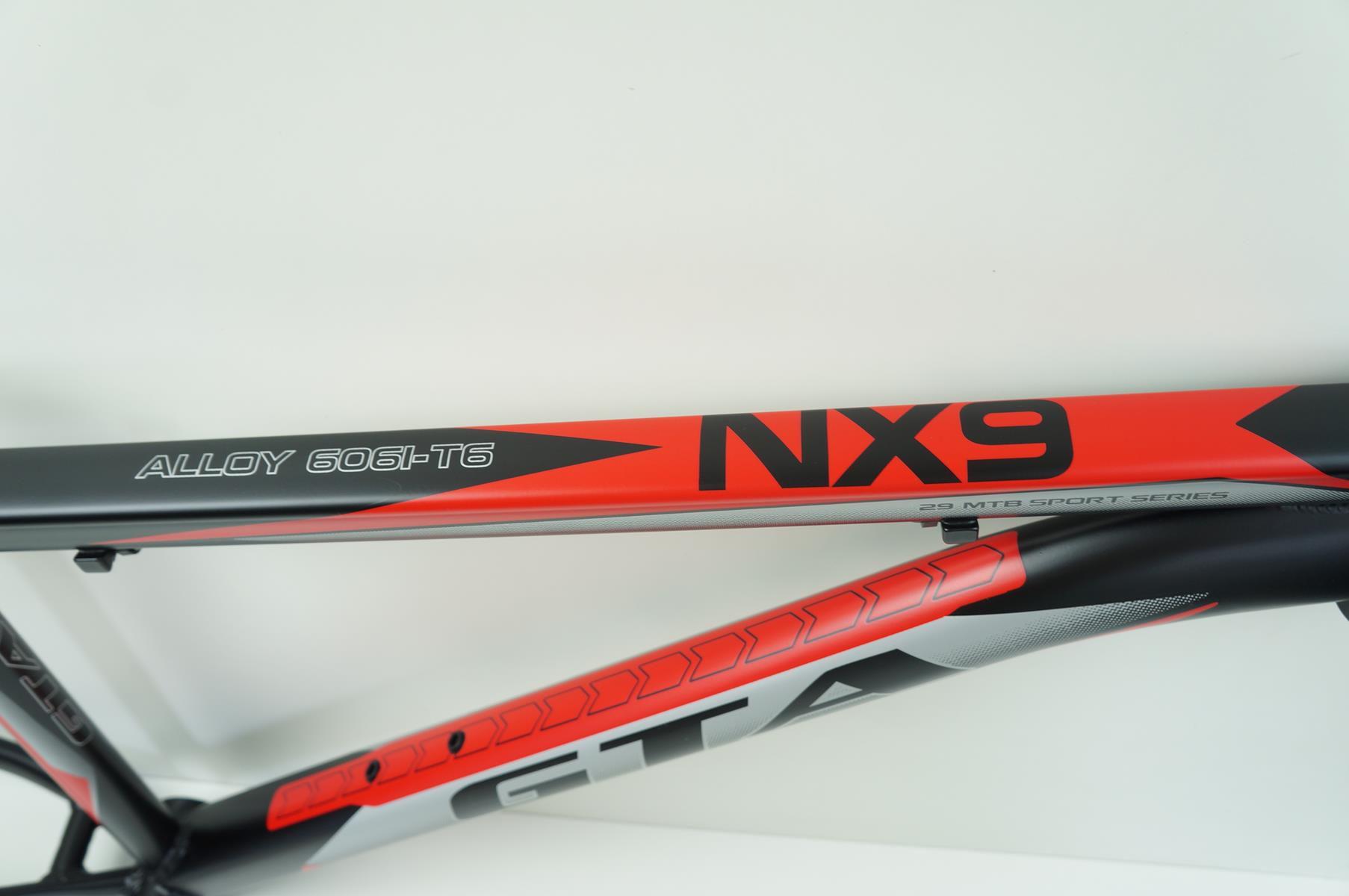 Quadro Mtb GTA NX9 Aro 29 Vermelho Tamanho 17 Com Kit Guidão Canote Mesa + Brinde