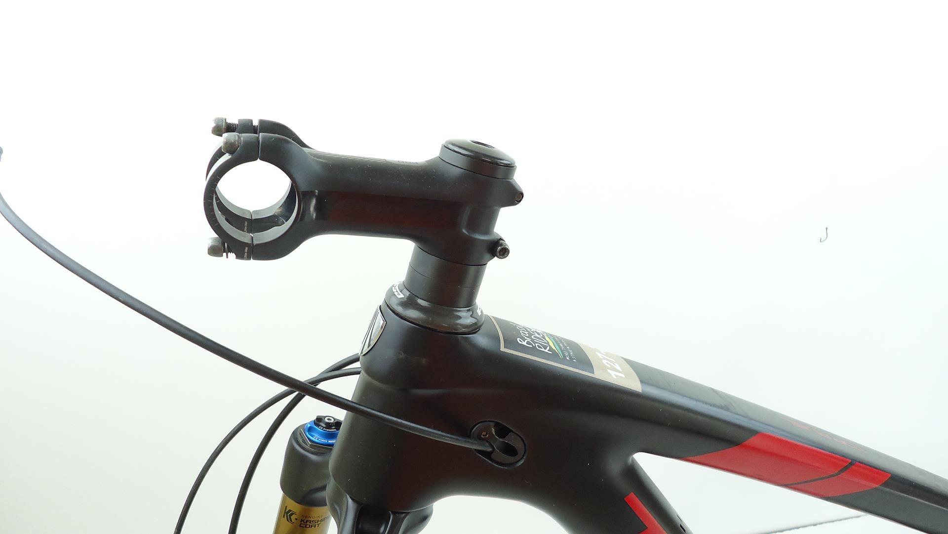 Quadro MTB Trek Top Fuel Carbono 29er Tamanho 17,5 Com FOX SC Factory E Canote Rock Shox Reverb - USADO
