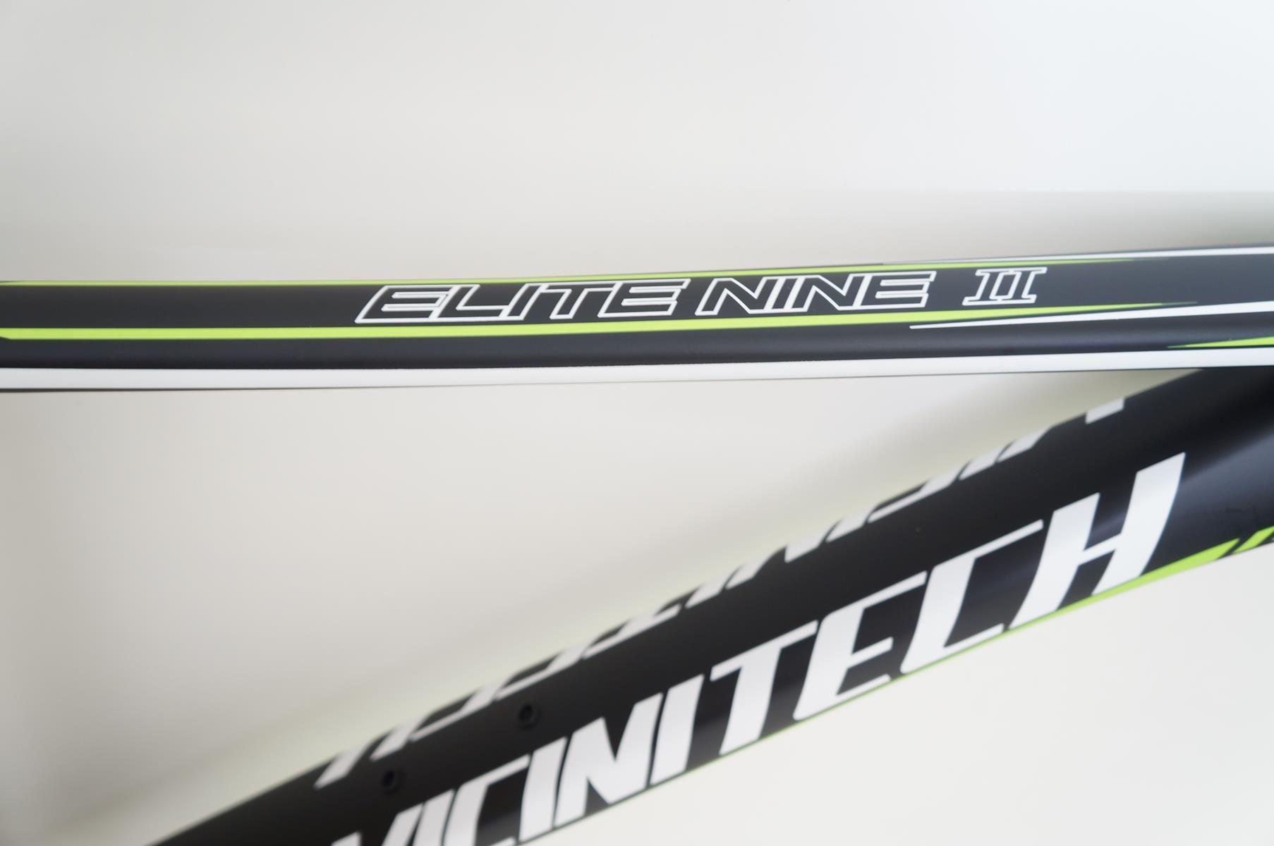 Quadro MTB Vicinitech 29er Elite Nine II Preto com Verde em Aluminio 2018