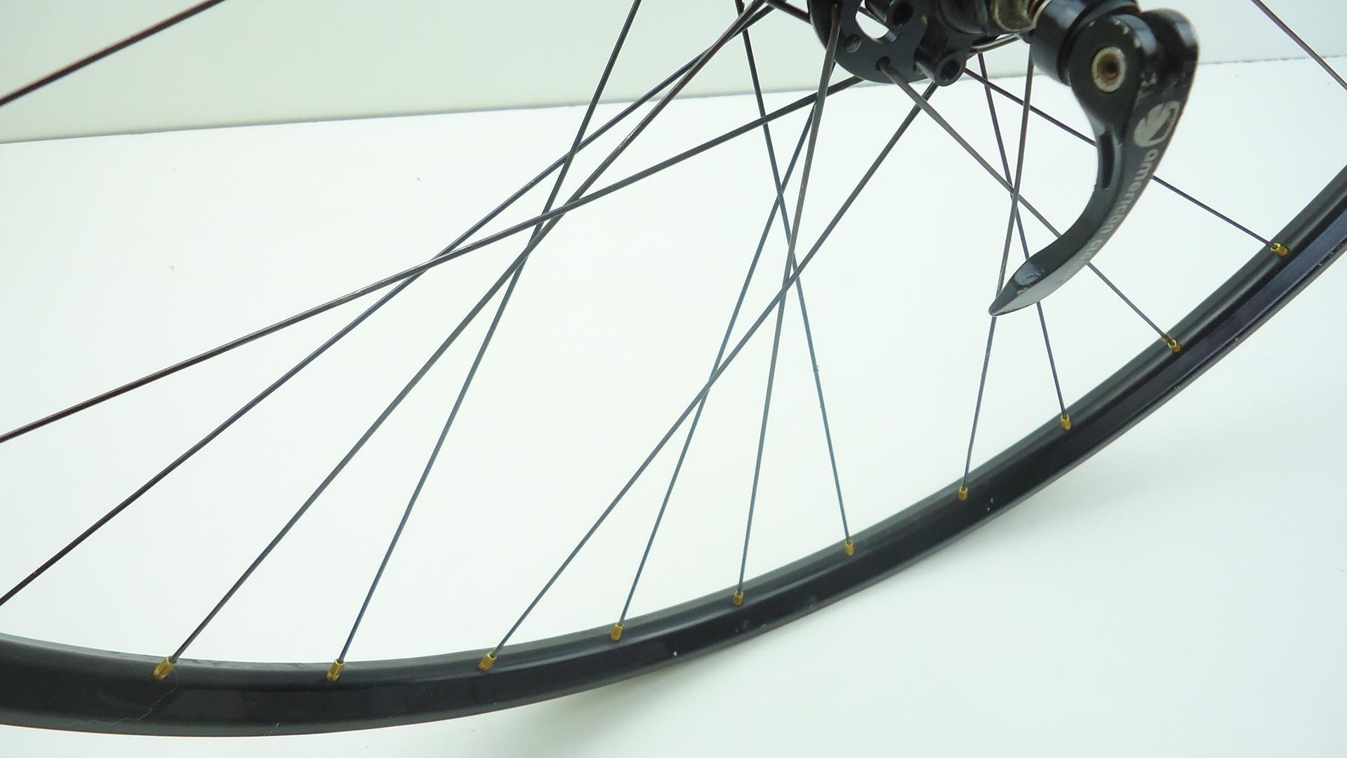 Roda Dianteira Bicicleta MTB ZTR Crest com Cubo American Classic Eixo 9mm - USADO