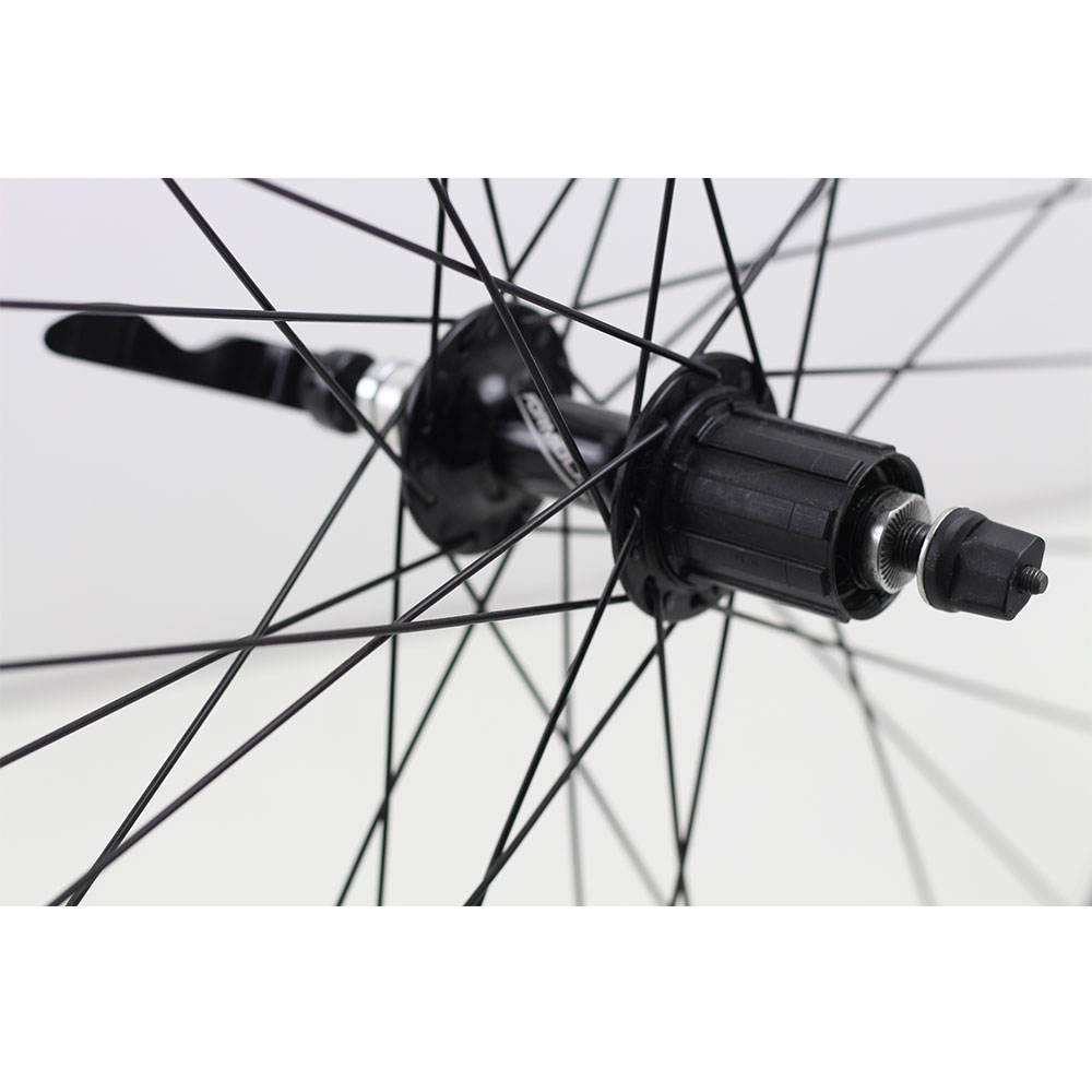 Rodas Speed Maddux R3.0 Aro 700 em Alumino Cor Preta com Rolamentos Road - USADO