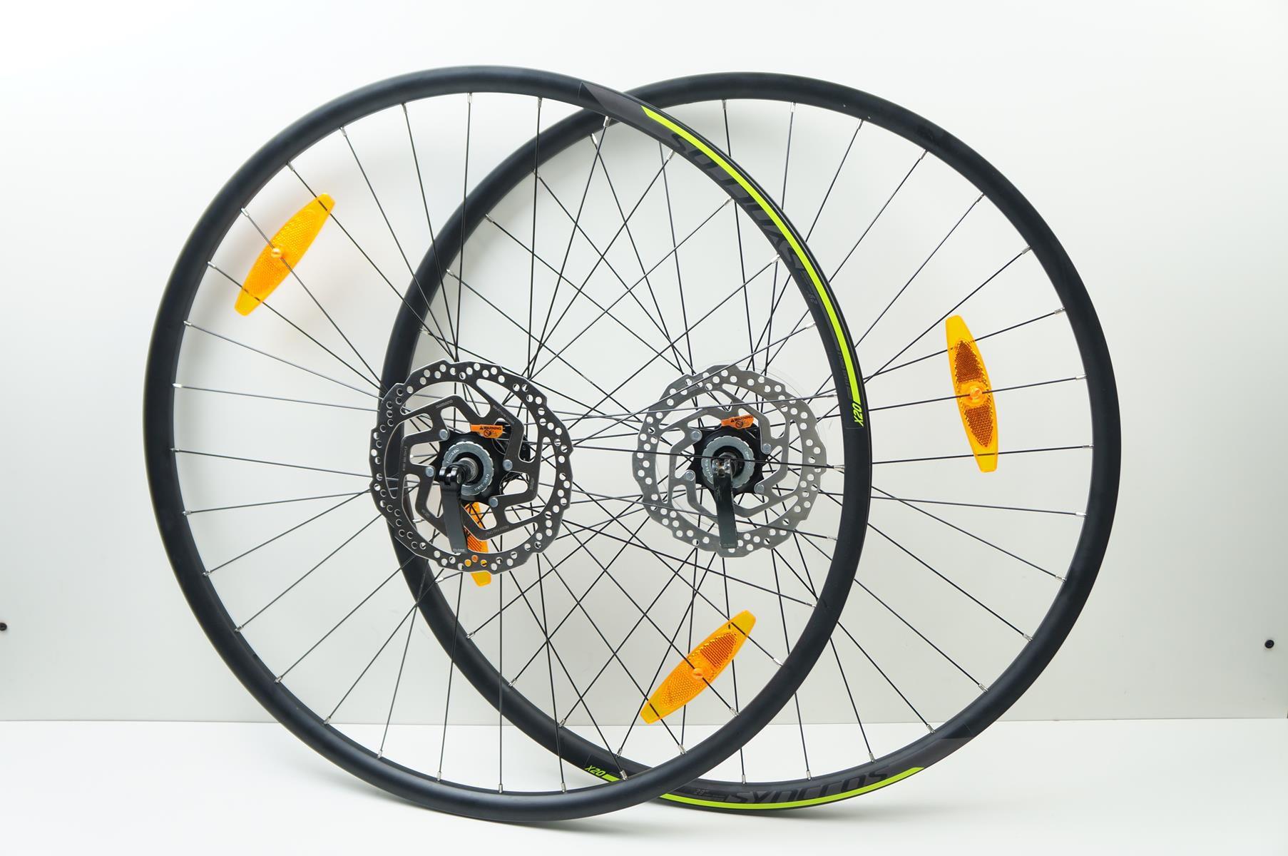 Rodas Syncros X20 Disc Aro 29 Alumino Eixo 9 Preta com DIscos Shimano