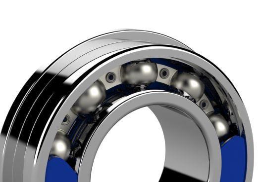 Rolamento Enduro 6003 LLB 17x35x10mm Para Rodas Cubos e Partes Bicicleta