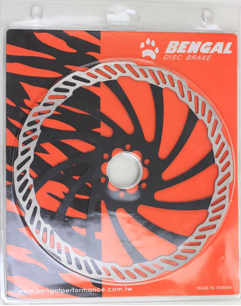 Rotor de Freio à Disco Bengal 203mm Cor Preto Em Inox Fixação 6 Furos