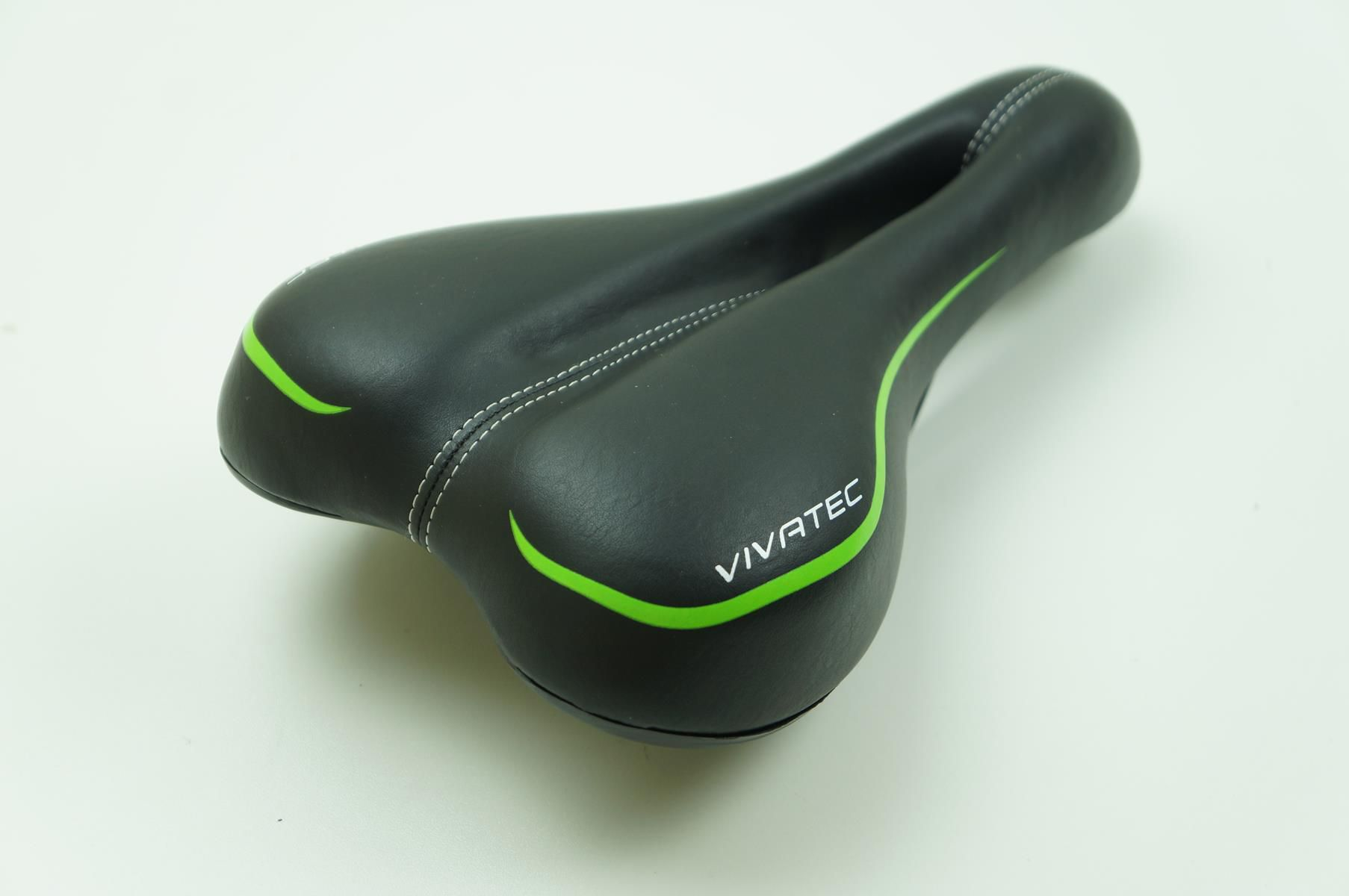 Selim Banco Bicicleta MTB Vicinitech Vivatec Super Confortável 155mm Largura