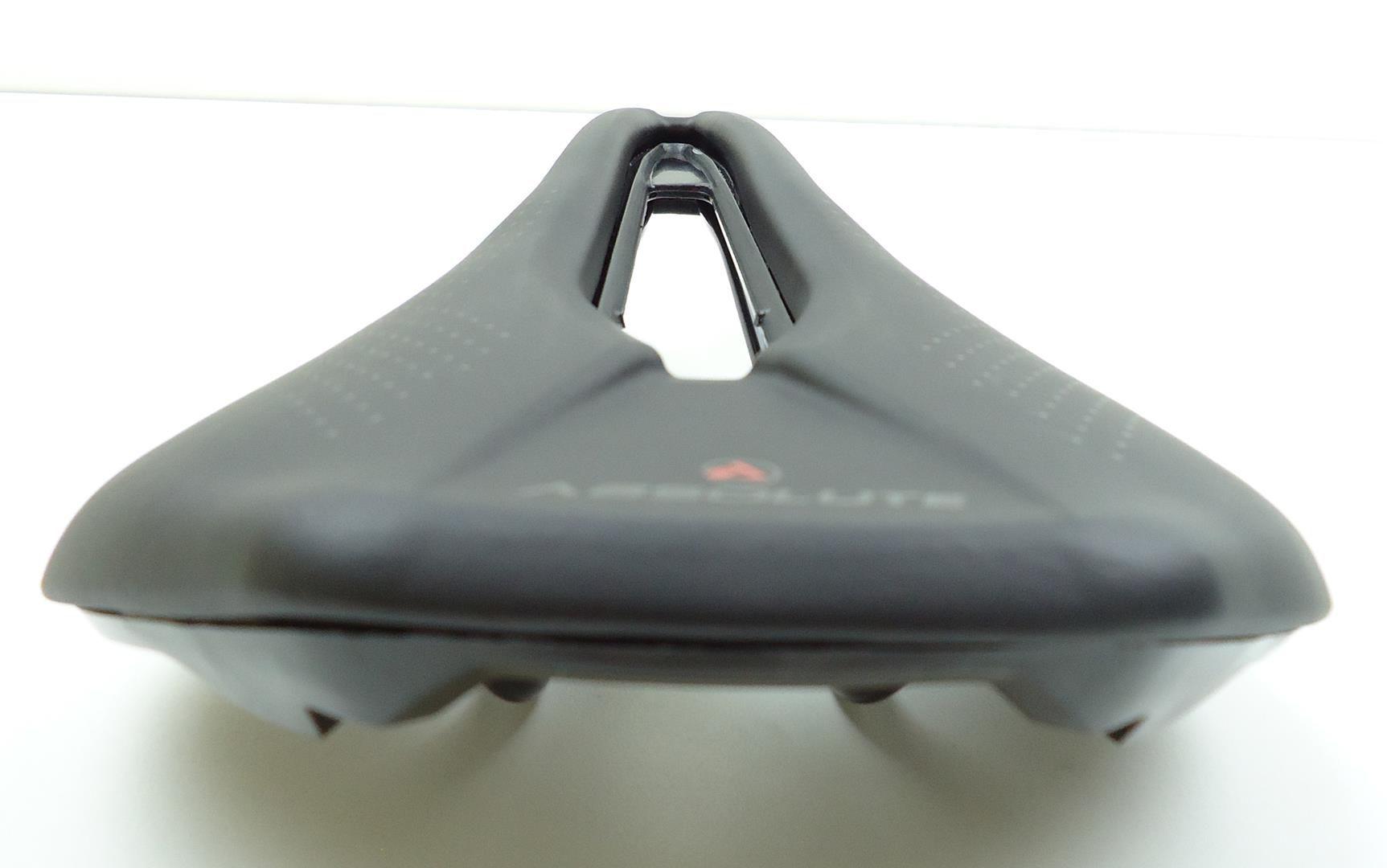 Selim Bicicleta Absolute Prime Estilo Power Cor Preto para Speed ou Mtb 160mm
