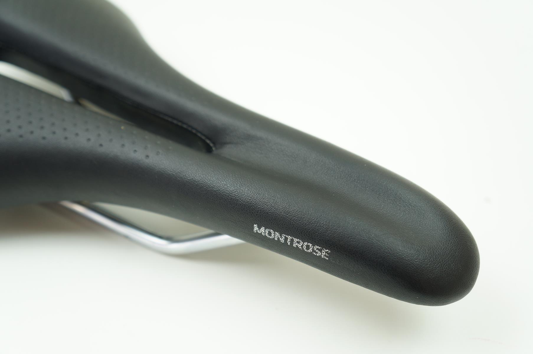 Selim Bicicleta Bontrager Montrose Comp Vazado Preto Mtb Ou Speed 138mm - USADO