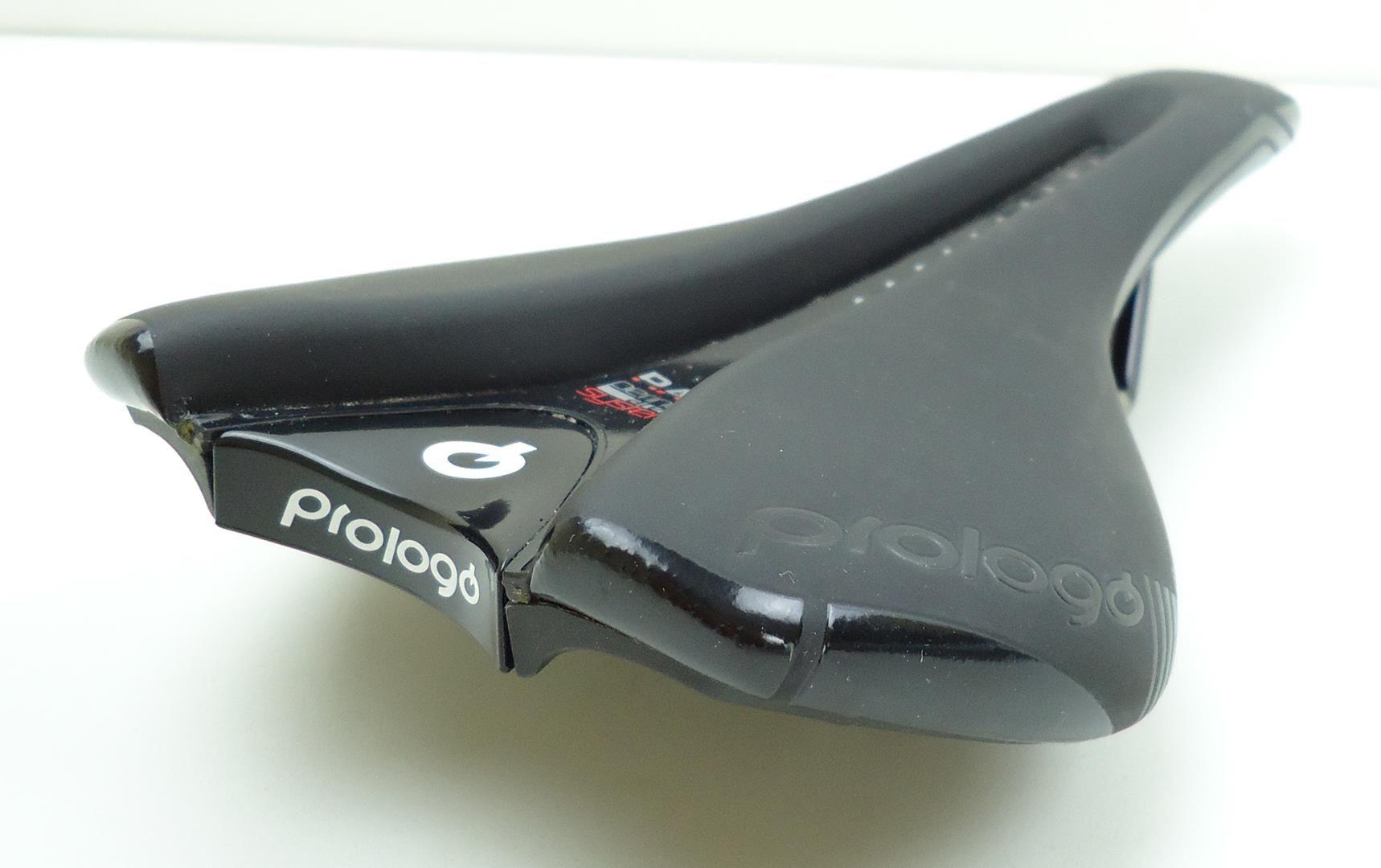Selim Bicicleta Prologo Nago Evo Pass Cor Preto para Speed Largura 134mm - USADO