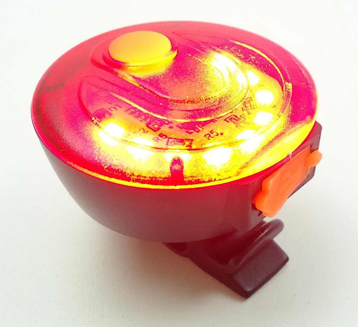 Sinalizador com Led JWS WS-8203 Recarregável USB Led Vermelho 5 Modos Super Forte