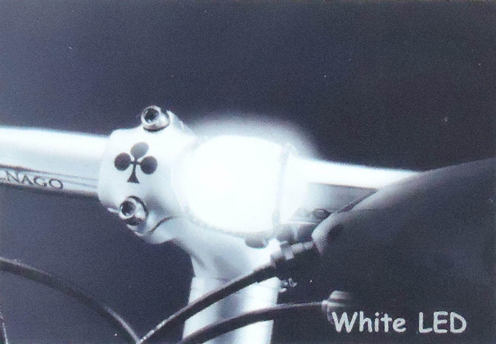 Sinalizador Dianteiro e Traseiro Cateye LD110 com Led para Luz Noturna